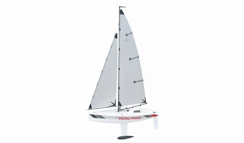 Segelboot Racing Micro Magic Tuningversion, Bausatz