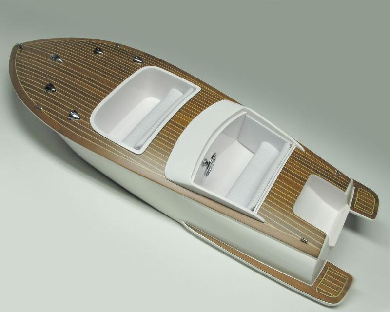 Bellezza Sportboot GFK Rumpf+Zubehör