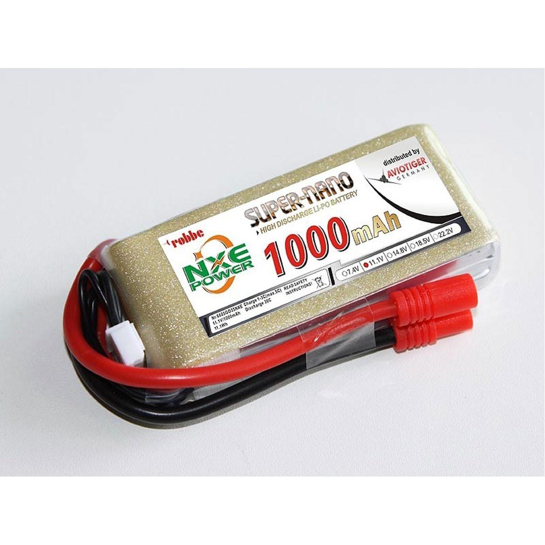 LiPo Akku 3S 1000 30C Go 35 robbe NXE-Power Evo