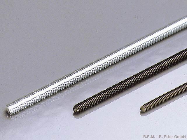 Gewindestange M 3 Eisen Verzinkt 1m