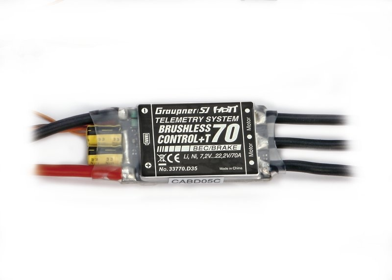 BRUSHLESS CONTROL +T 70 XT-60