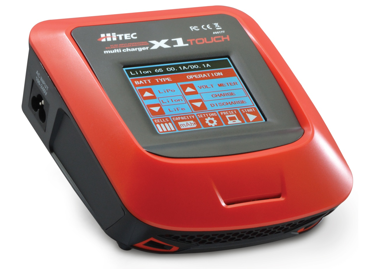 HiTEC Multicharger X1 Touch