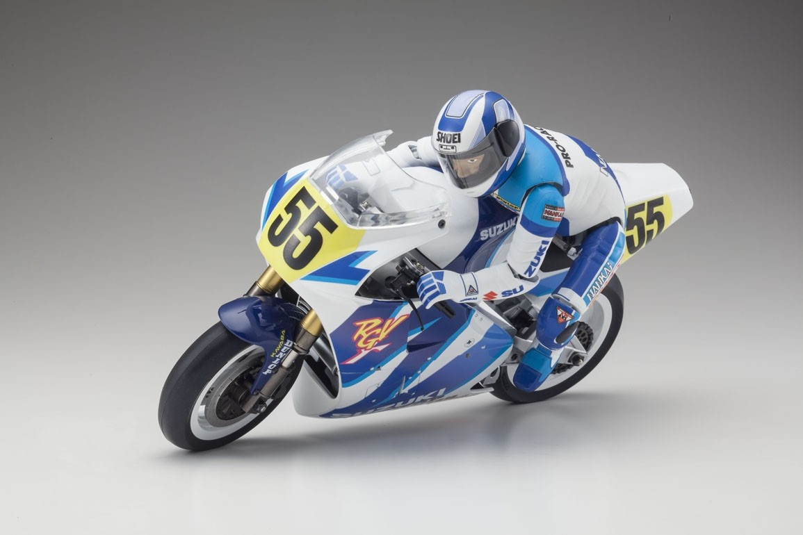 Motorrad Hanging on Racer Suzuki RGV KIT