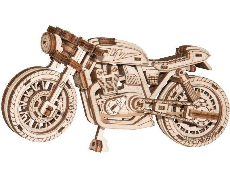 Motorrad Cafe racer 3D-tec Bausatz