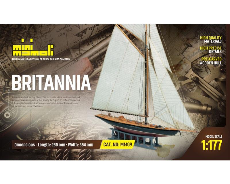 Britannia Bausatz 1:177 Mini Mamoli
