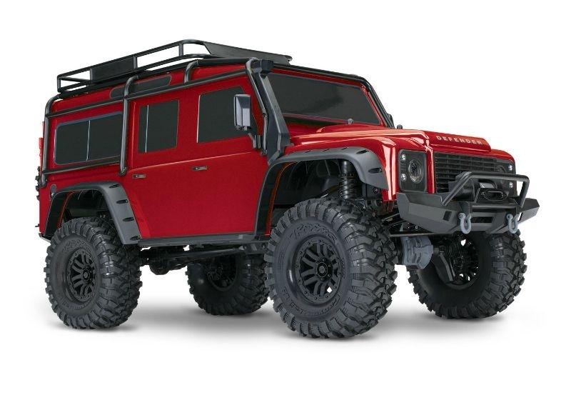 TRAXXAS TRX-4 Land Rover Crawler rot