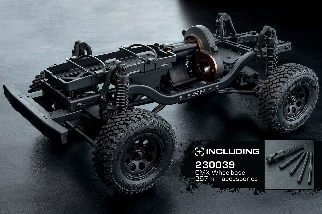 CMX 1:10 4WD High Performance Off-Road Car KIT