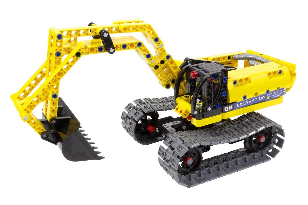 Bausatz Bagger & Roboter - 2 in 1