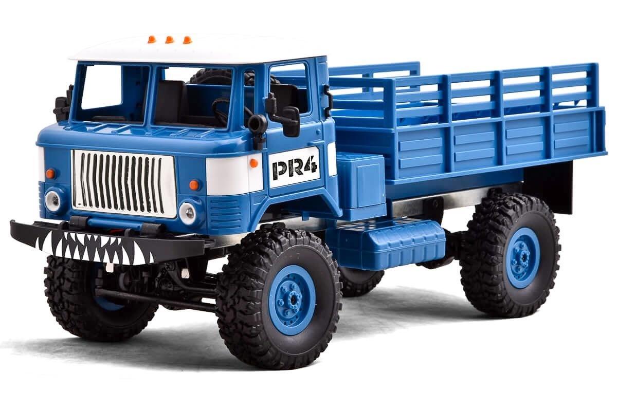 PR4 Militär Scale Truck 4WD EP 1/16 RTR (blau)