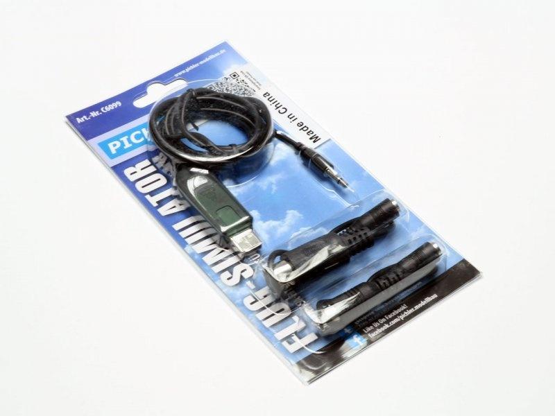 Flugsimulator V.2 / USB Anschußkabel/Adapter