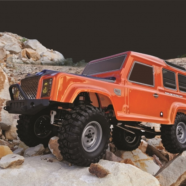 SUV Crawler 1:10 4WD RTR, Orange