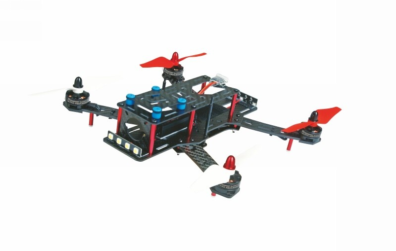 Quad Copter ALPHA250 RACE HoTT
