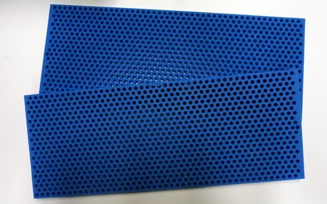 Schaumstoff-Lochmatte 485x190x15mm