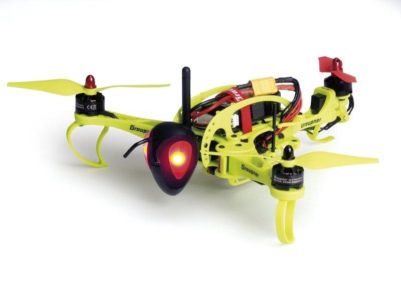 WP HoTT-Hornet 250 Tricopter