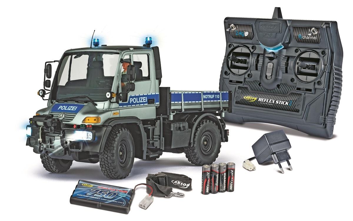 1:12 MB Unimog U300 Polizei 2.4GHz 100% RTR