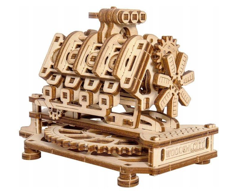 V8 Motor 3D-tec Bausatz