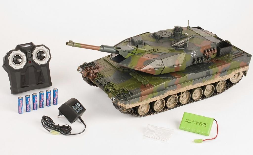1:16 Leopard 2A5, 2,4 GHz, 10