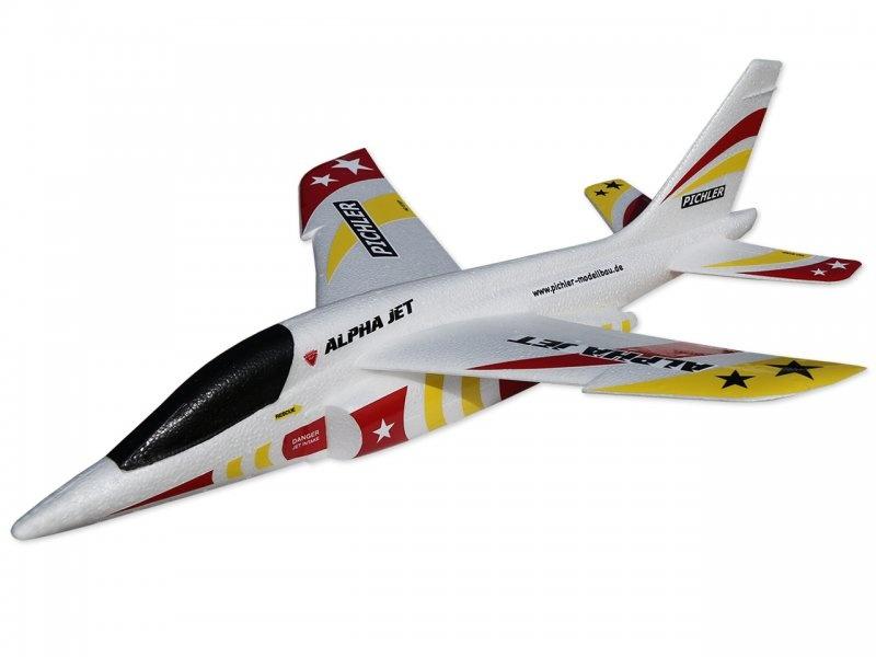 Wurfgleiter Alpha Jet 470mm (rot-gelb)