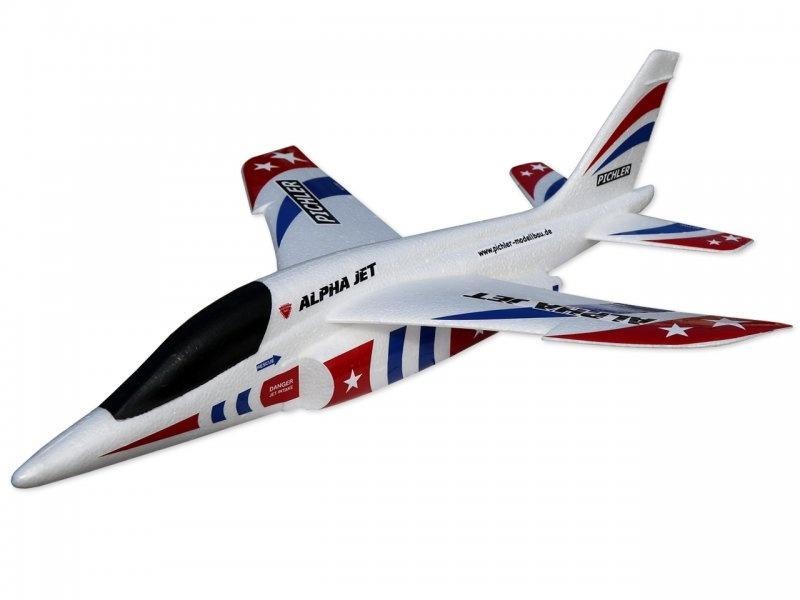 Wurfgleiter Alpha Jet 470mm (rot-blau)
