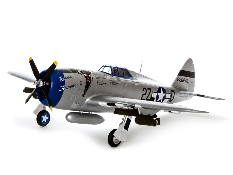 E-flite P-47 Razorback 1200mm AS3X BNF Basic