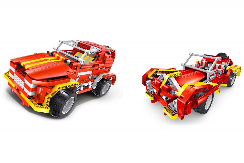 Bausatz RC SUV & Roadster - 2 in 1