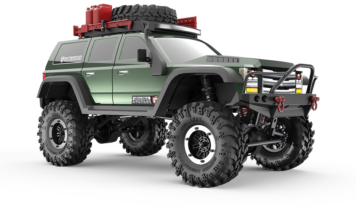 RC Crawler Gen7 PRO - GREEN EDITION