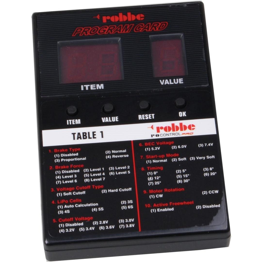 ROBBE RO-CONTROL PRO PROGCARD