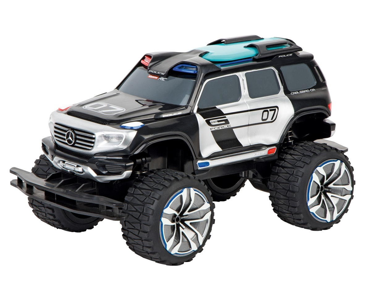Mercedes Benz Ener-G-Force, Police LED