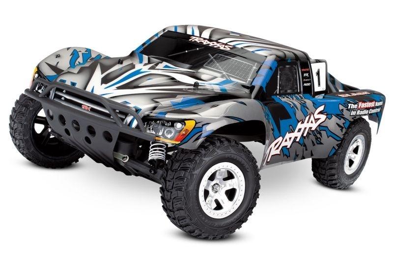 Traxxas Slash 2 WD blau-X 1:10 Short Course Truck
