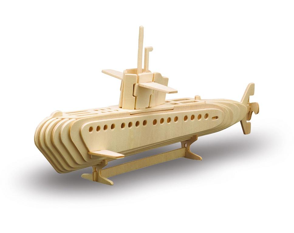 HOLZBAUSATZ U-Boot