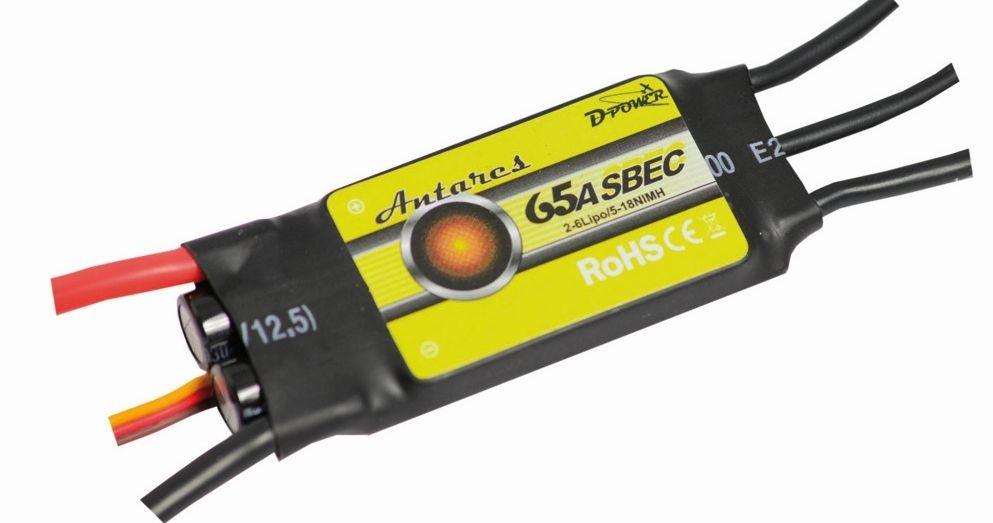 D-Power Antares 65A S-BEC Brushless Regler